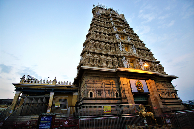 Chamundeshwari Temple at Mysore