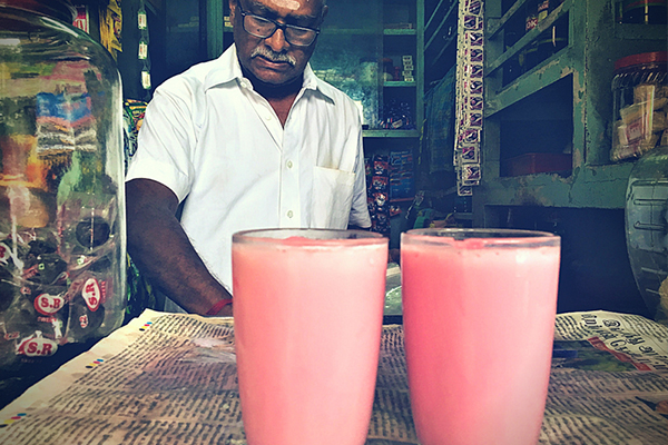 indian pamorama-food-south india-Rosemilk shop