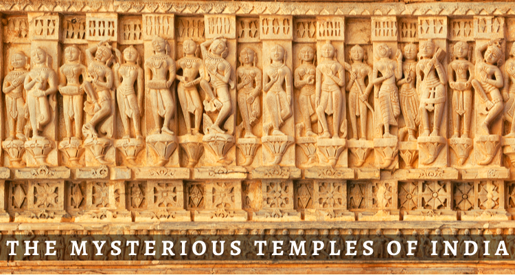 The Mysterious Temples of India | Women Carvings in Temples