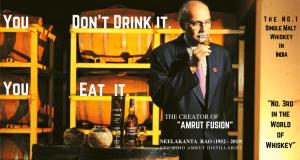 The Best Single Malt Whiskey in India - Amrut Fusion