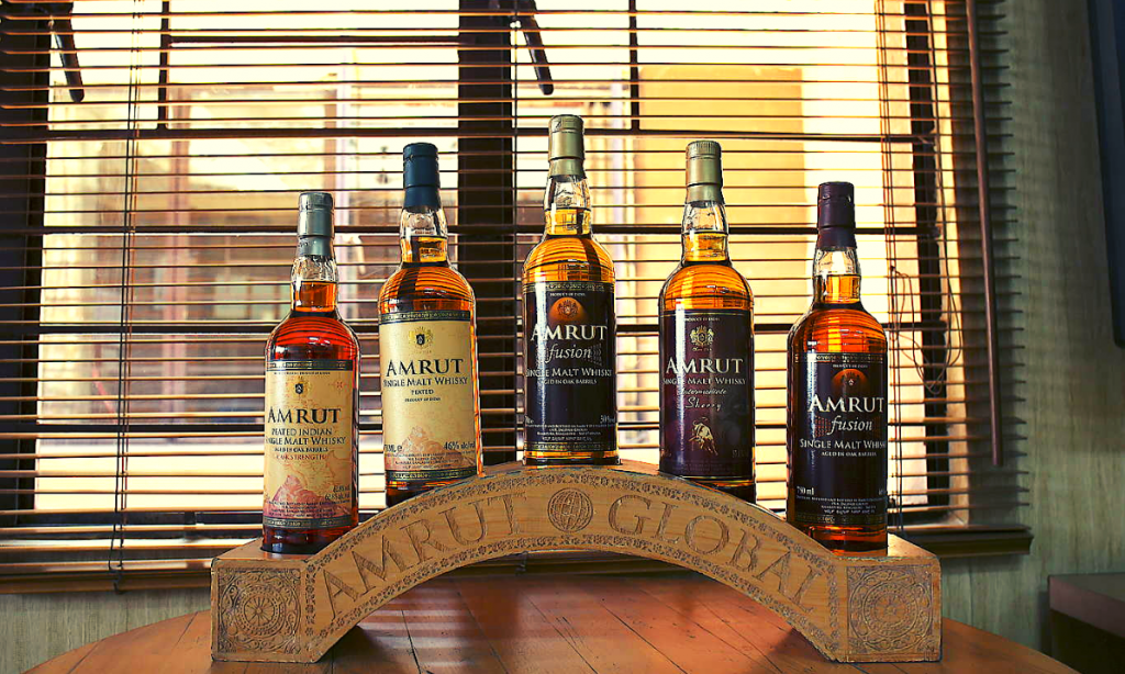 "Amrut Distilleries was given the ""World Whisky Producer of the Year"" award too."