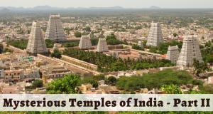 Thiruvannamalai Temple Aerial View