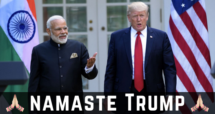 Namaste Trump | US President Trump Visits India