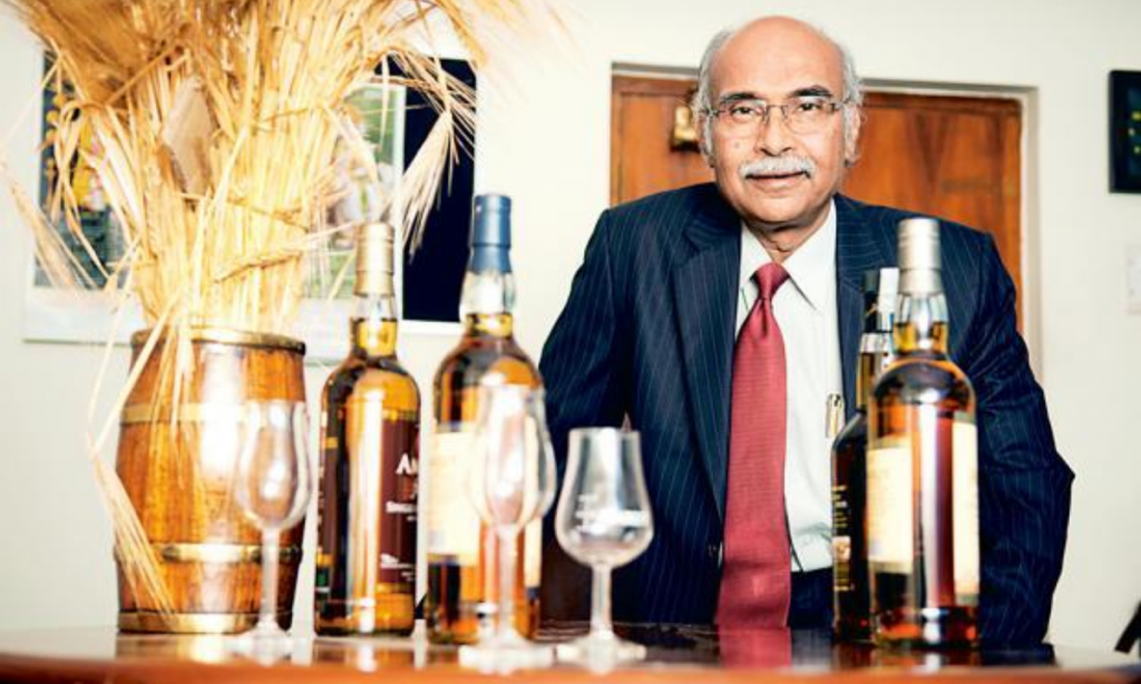 Neelakanda Rao Jagdale, the man behind the world's best Single Malt Whiskey
