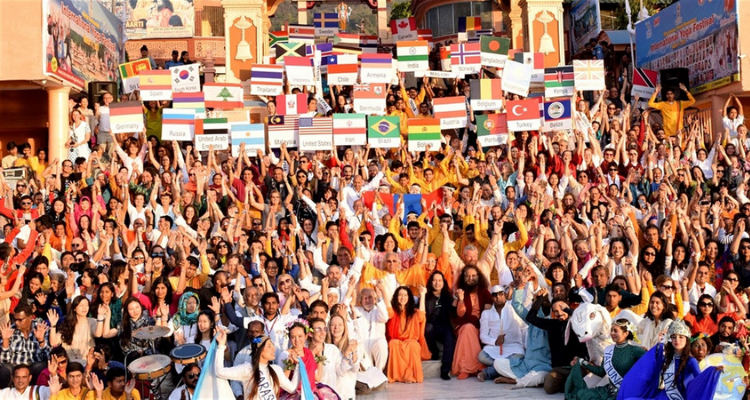 the world famous annual International Yoga Festival in 2020