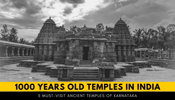 1000 year old Ancient temples in Karnataka