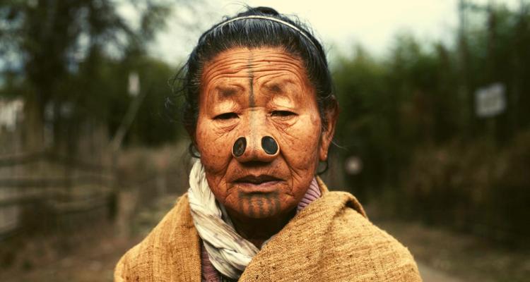 Apatani Tribe Women with nose plug