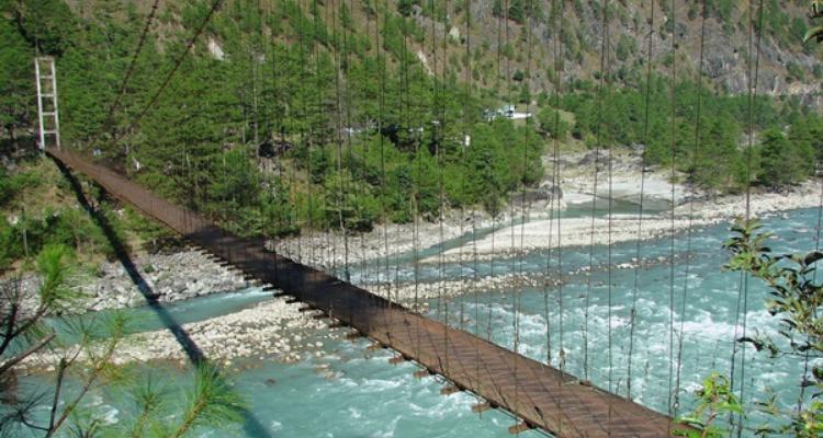 Best Hanging Bridge in India
