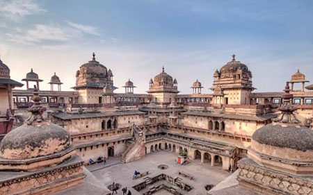 orchha-fort-india