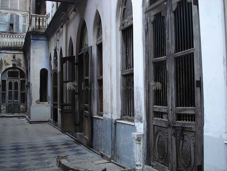 Ahmedabad old city architectural details