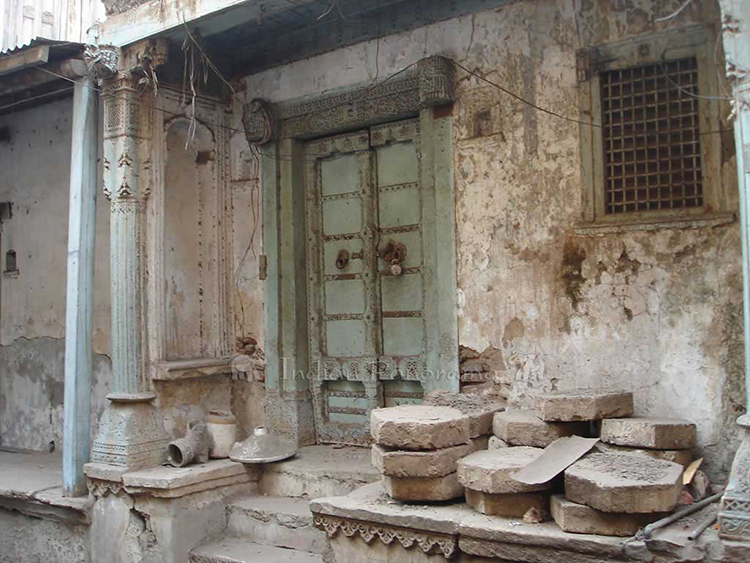 Ahmedabad old city houses