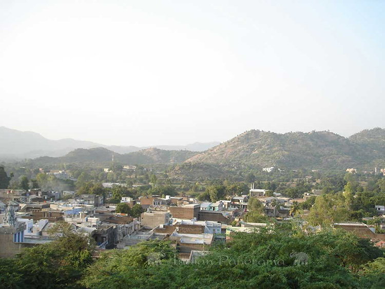 Ahmedabad Hill Range View