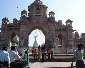 Ahmedabad, Ambaji Temple Entrance