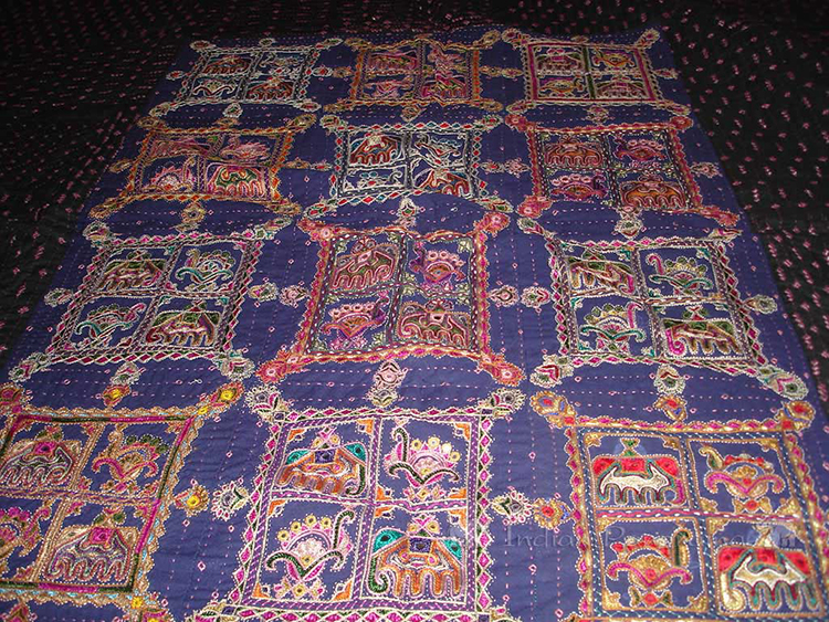 Textiles at Crafts Co-operative, near Bhuj