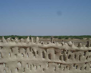 Tradional Mud Walls, Shaam-E-Sarhad