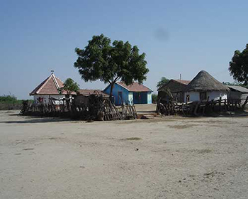 Traditional village near Bhuj