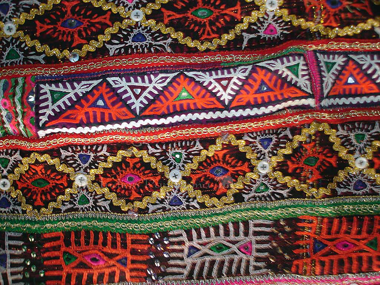 Village Embroidery Textiles