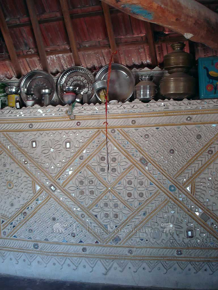 Traditional Mosaic Mud Walls