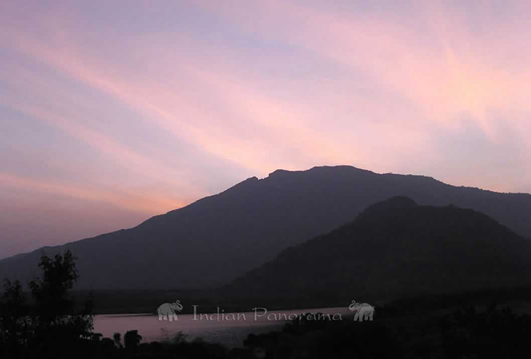 Beautiful sunsets at Cardamom House, Dindigul
