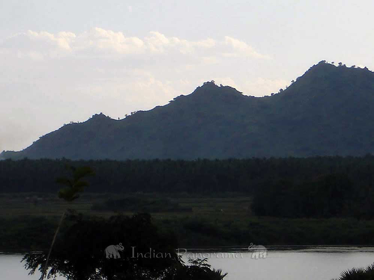 Views of the Lake from Cardamom House, Dindigul