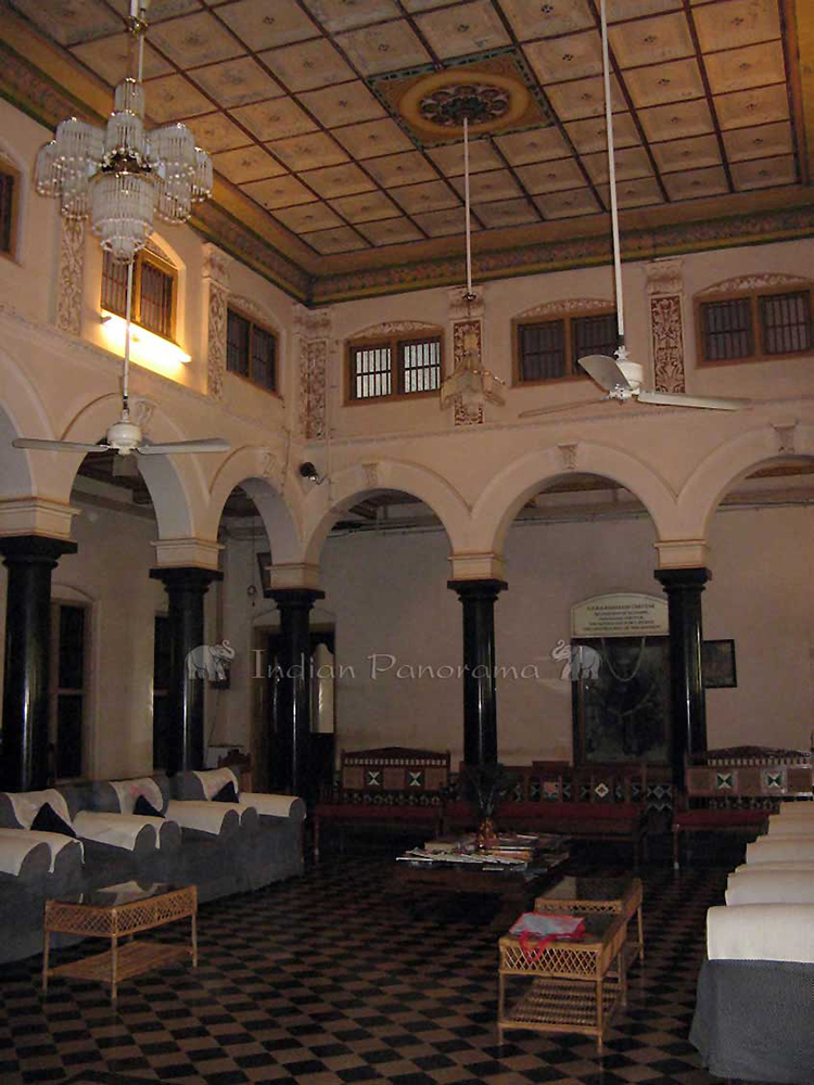 Inside Chettinadu Mansion
