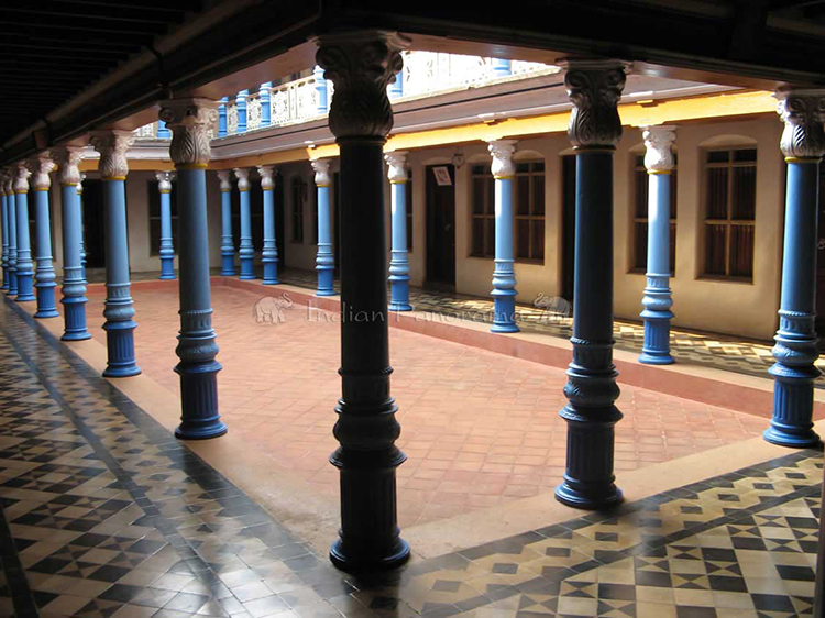 Chettinadu Mansion Courtyard