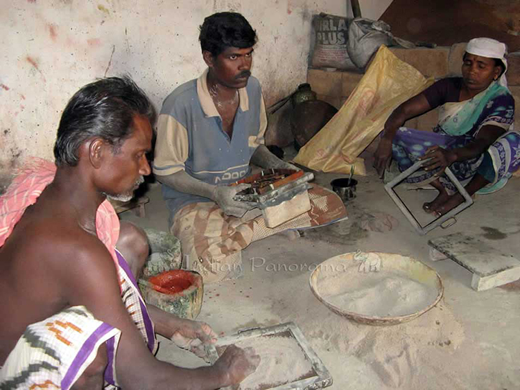 Tile Making In Chettinad
