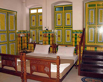 Room in Chettinadu Mansion
