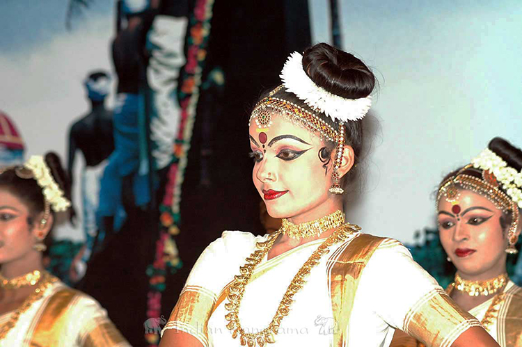 Kerala's traditional dancers