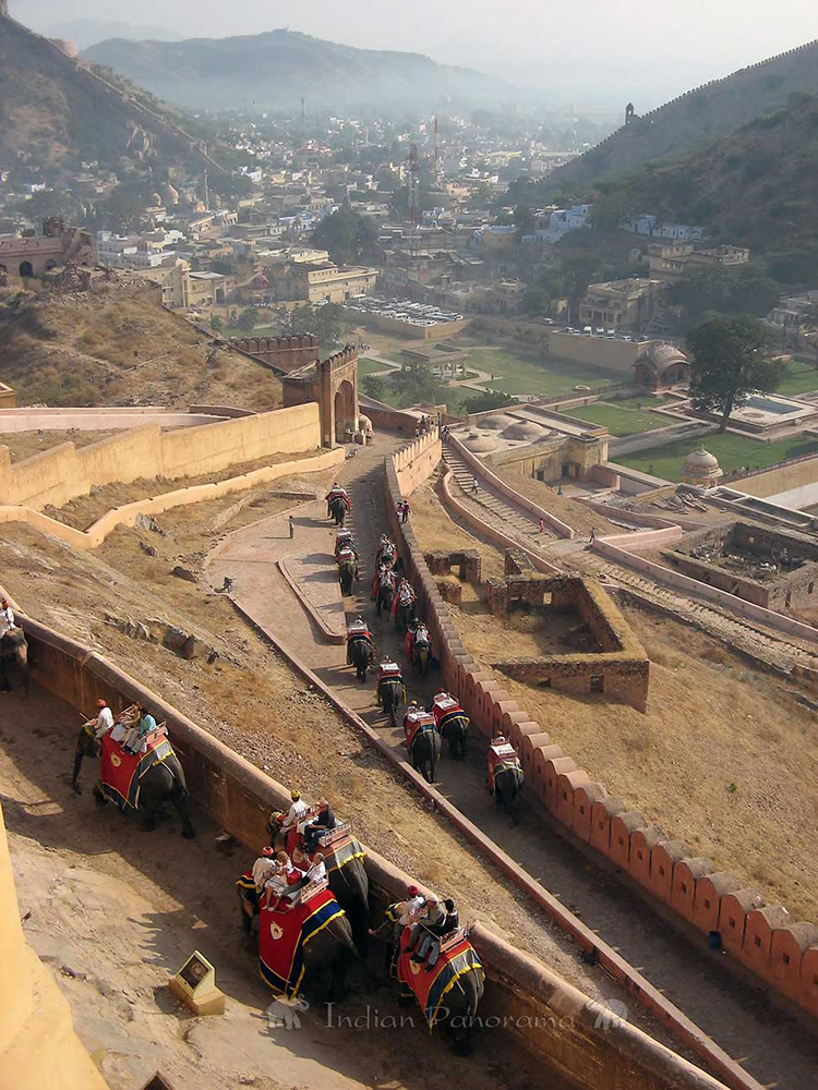 Views Of Amber Fort