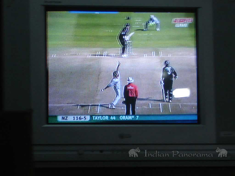 Watching Cricket On TV
