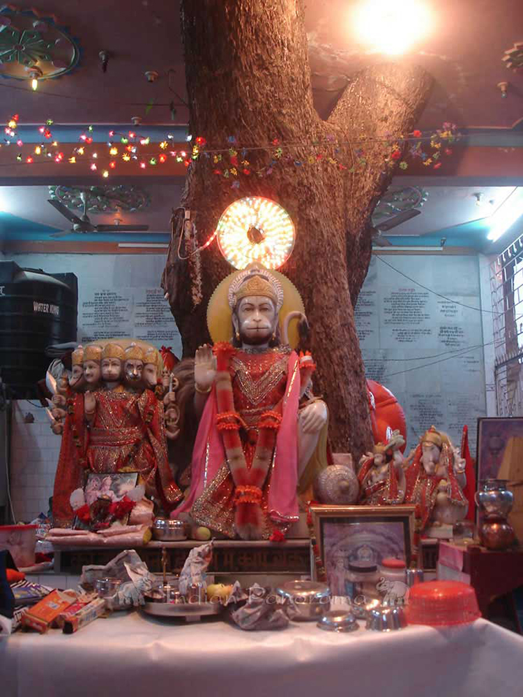 Pragpur Village Hanuman Temple