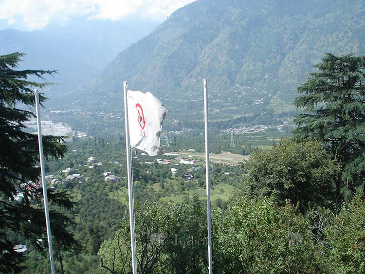 Views From Roerich Estate Gardens, Near Manali