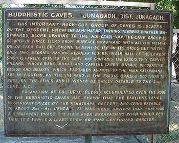 Buddhist Caves, Junagadh