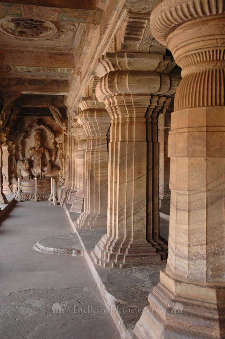Ancient Temple At Aihole