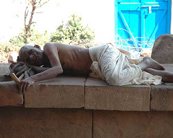 Sleeping Local At Aihole
