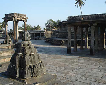 Belur Temple Near Hassan