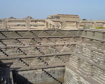 Step Well At Hampi