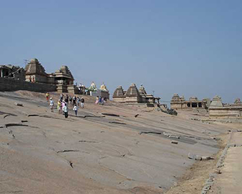 Near The Main Bazaar, Hampi