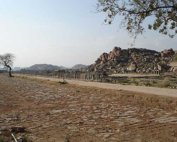 Royal Compound, Hampi