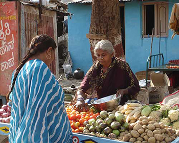 Vegetable Seller, Hampi