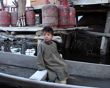 Child In Srinagar
