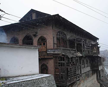 Historic Charming Architecture In Srinagar