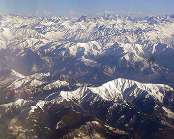 Glorious Kashmir Mountains Views