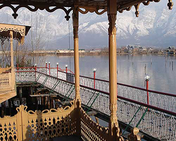 Views From A Houseboat On Dal Lake, Srinagar