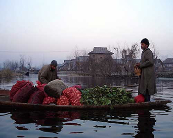 Srinagar Floating Market