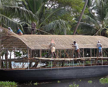 Houseboat Construction