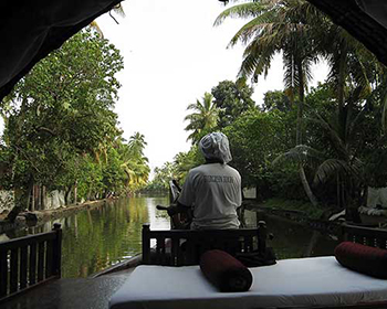 Houseboat - View From Inside