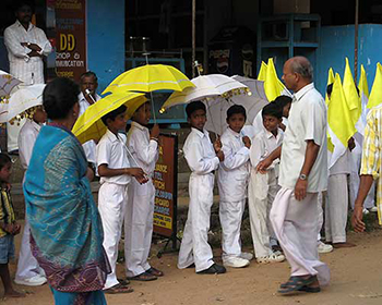 Kerala School Children Parade