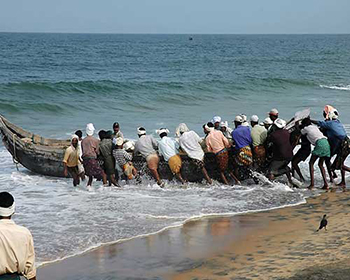 Kerala Beach Fishermen